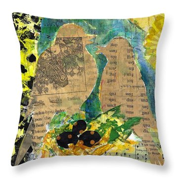 Mater And Pater Throw Pillow