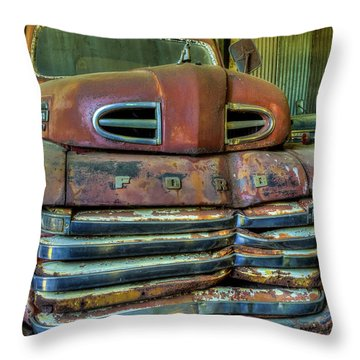 Mater From Cars Throw Pillow