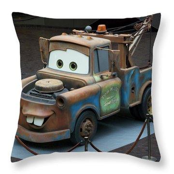 Mater Mp Throw Pillow