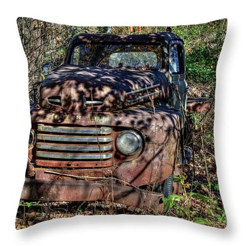 Mater Two From Car Story Throw Pillow
