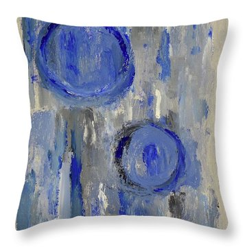 Maternal Throw Pillow by Victoria Lakes