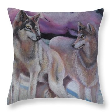 Mates Forever Throw Pillow