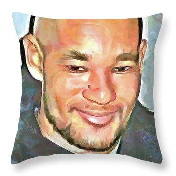 Matheu Flament Throw Pillow