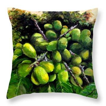 Matoa Fruit Throw Pillow
