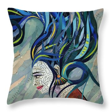 Matriarch Throw Pillow