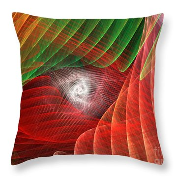 Matrix Throw Pillow