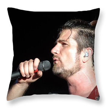 Matt Nathanson Throw Pillow by Cindy Manero