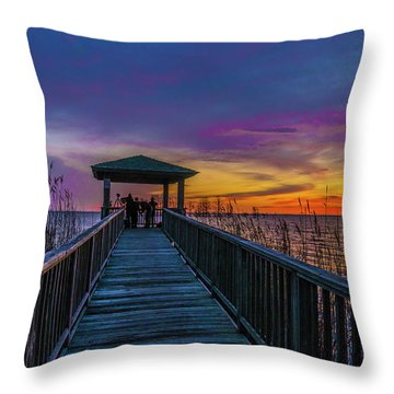 Mattamuskeet Lake Throw Pillow