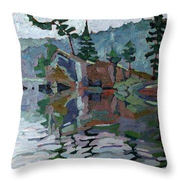 Mattawa Pines Throw Pillow