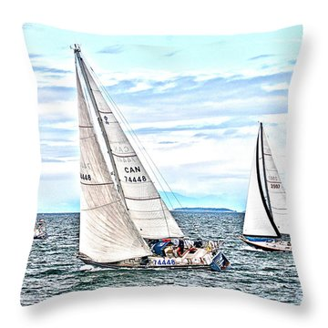 Maui Bound Throw Pillow