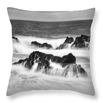 Maui In Turmoil Throw Pillow