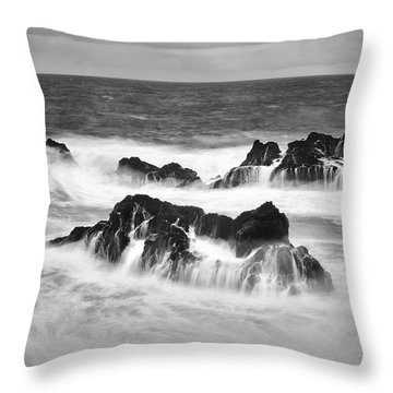 Maui In Turmoil Throw Pillow