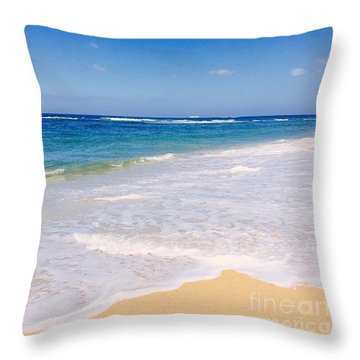 My Island Home Throw Pillow by Sharon Mau