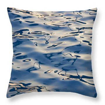 Maui Ocean Ripples II Throw Pillow by Ron Dahlquist - Printscapes