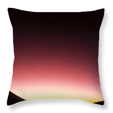 Mauna Kea, Summit Throw Pillow by Mary Van de Ven - Printscapes