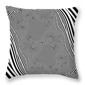 Mauruating Throw Pillow
