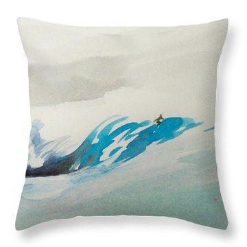 Mavericks Throw Pillow