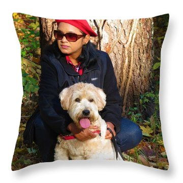 Max Baby Throw Pillow