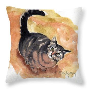 Maxi 1 Throw Pillow