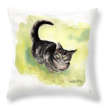 Maxi 3 Throw Pillow
