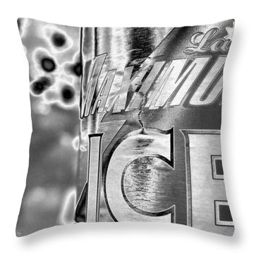 Maximum Ice - 065 Throw Pillow by Maciek Froncisz