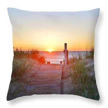 May 26, 2017 Sunrise Throw Pillow