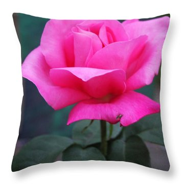 Throw Pillow featuring the photograph May Beauty by Vadim Levin