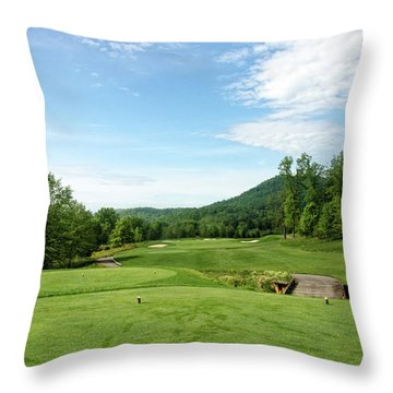 May Day Morning Throw Pillow