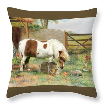May I Share ? Throw Pillow