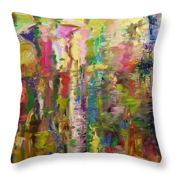 May Reflections Throw Pillow