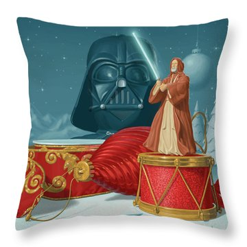 May The Holidays Be With You Throw Pillow