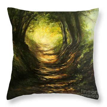 May Your Light Always Shine Throw Pillow