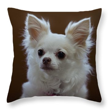 Maya 3 Throw Pillow