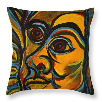 Mayan Throw Pillow