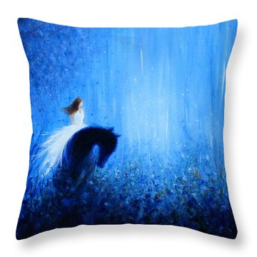 Maybe A Dream Throw Pillow by Kume Bryant
