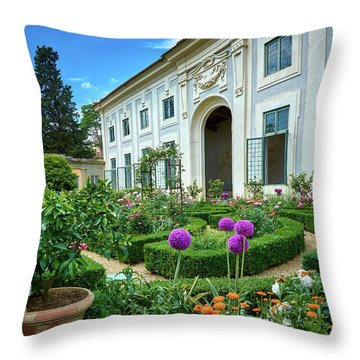 Maybe We Should Expand The Garden Throw Pillow