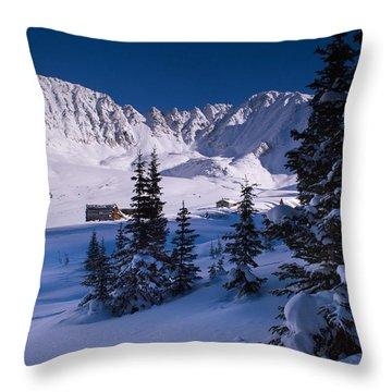 Mayflower Gulch Valley Throw Pillow