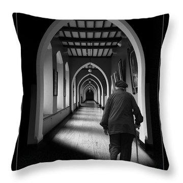 Maynooth Hall, Ireland Throw Pillow