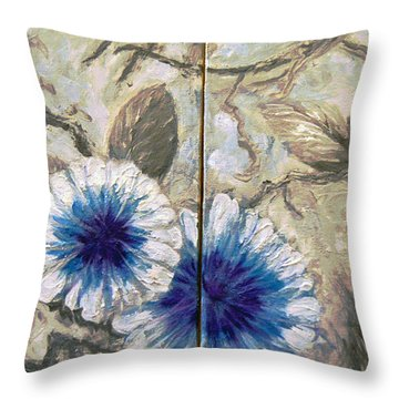 Maypop Dyptech Throw Pillow