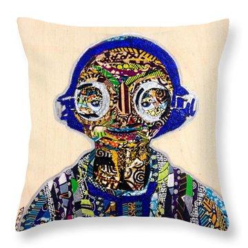 Maz Kanata Star Wars Awakens Afrofuturist Colection Throw Pillow