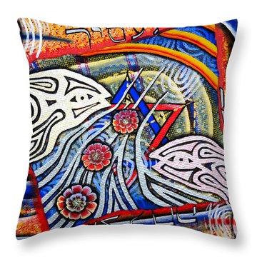 Mazalcha Your Stars Throw Pillow by Luke Galutia