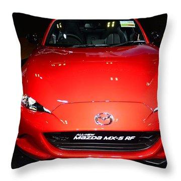 Mazda Mx5 Throw Pillow