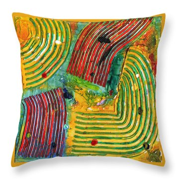 Mazteca Throw Pillow