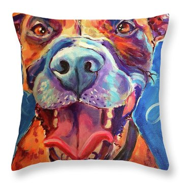Mazzy May Throw Pillow
