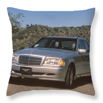 Mbz C280 Birthday Throw Pillow