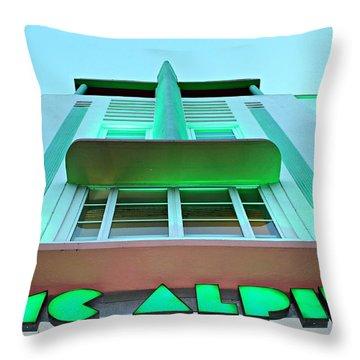 Mcalpin Hotel Throw Pillow
