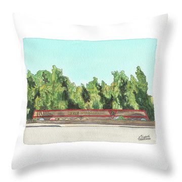 Mcas Miramar Welcome Throw Pillow
