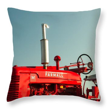 Tractor Throw Pillows