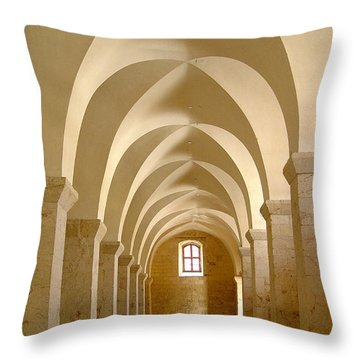 Mcdermott Great Mosque Aleppo Throw Pillow
