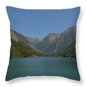 Mcdonald Lake- Ronan Montana Throw Pillow